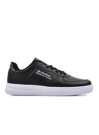 Bestof Bestof Bst-042 Siyah-Beyaz Erkek Spor Ayakkabı Siyah